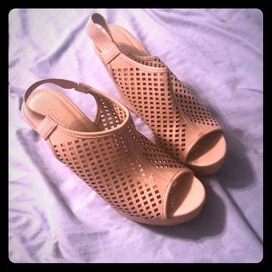 5 inch wedge heels by Chinese Laundry